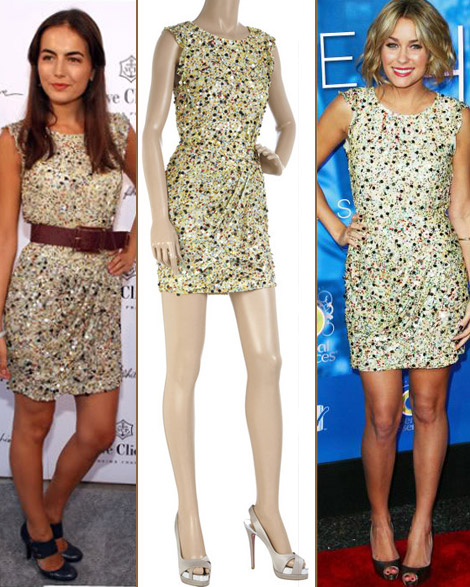 Camilla Belle Lauren Conrad Phillip Lim dress