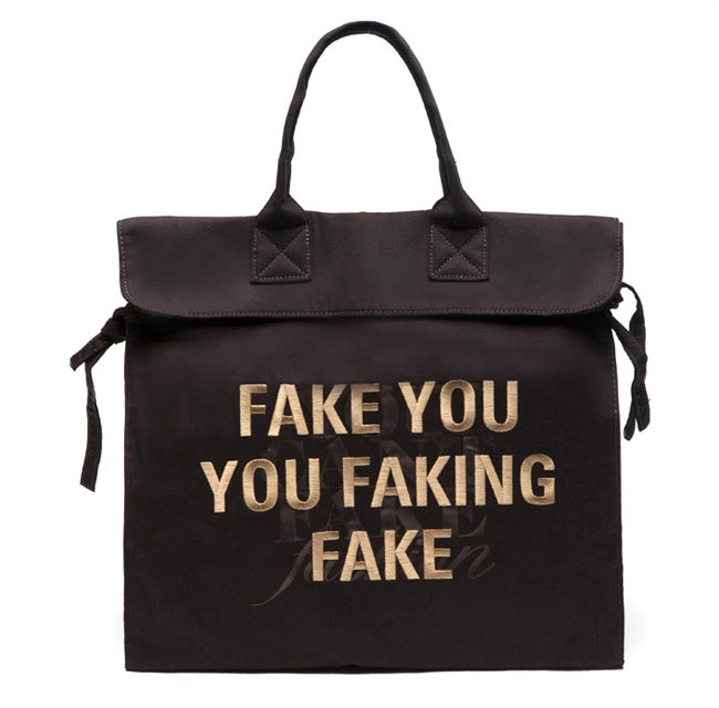 Can t Fake Fashion eBay CFDA black Tote