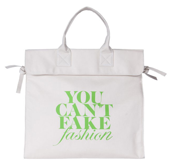 Can t Fake Fashion eBay CFDA Tote