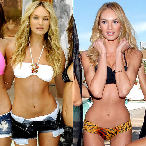 Candice Swanepoel's Waist Is Out Of Control