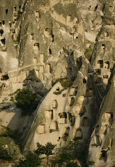 Cappadocia cave homes Turkey