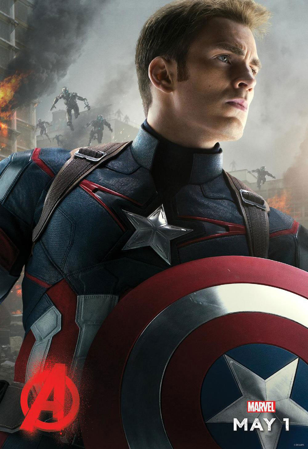 Captain America Avengers 2 Age of Ultron poster