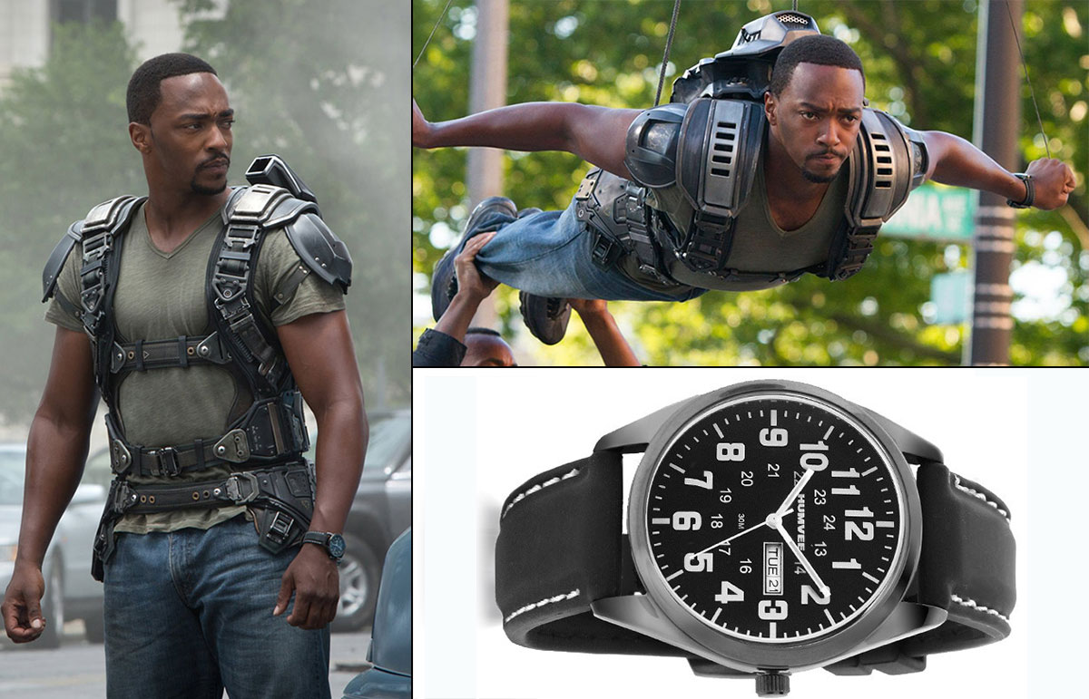 Captain America TWS Falcon Sam Wilson watch