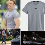 Captain America Winter Soldier Under Armour tshirt sneakers