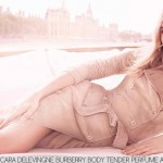 Cara Delevingne Burberry Body Tender Perfume Ad Campaign