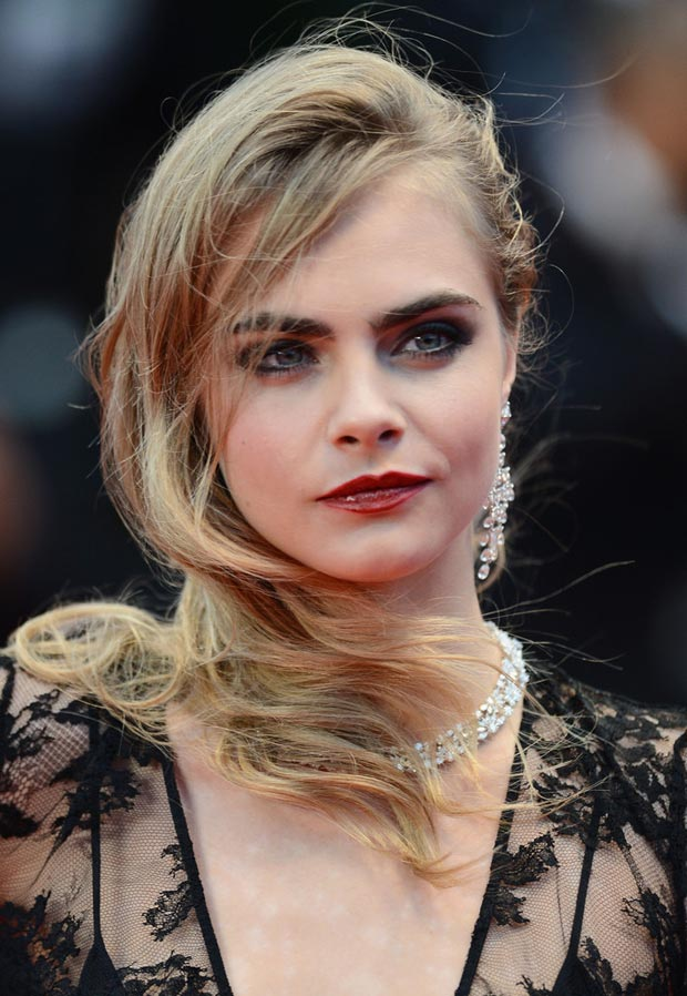 Cara Delevingne cleavage Cannes 2013