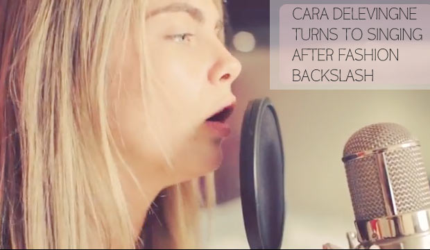 Cara Delevingne video song duet