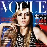 Cara Delevingne Vogue UK March 2013 cover
