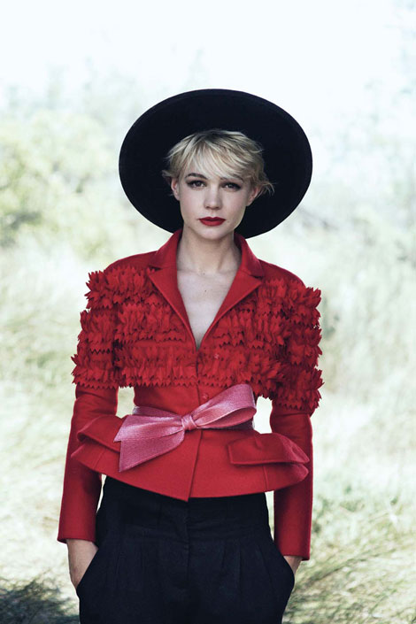 Carey Mulligan Covers Vogue US October 2010