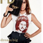 Carine Roitfeld i D fall 2011 cover photo