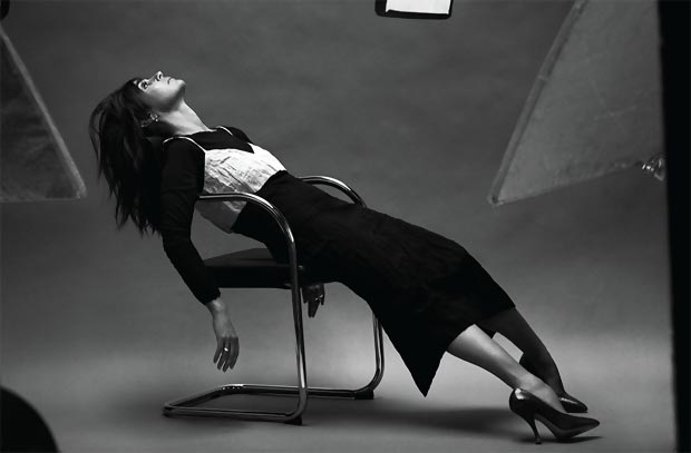 Carine Roitfeld looks at 58yo Net a Porter