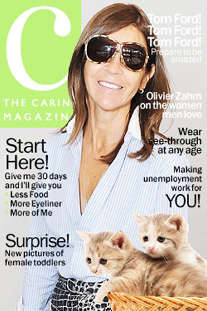 Carine Roitfeld's September 2012 Issue