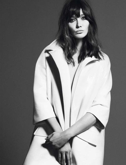 Carla Bruni by Mert and Marcus Vogue Paris