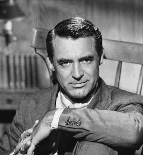 Cary Grant bw photo