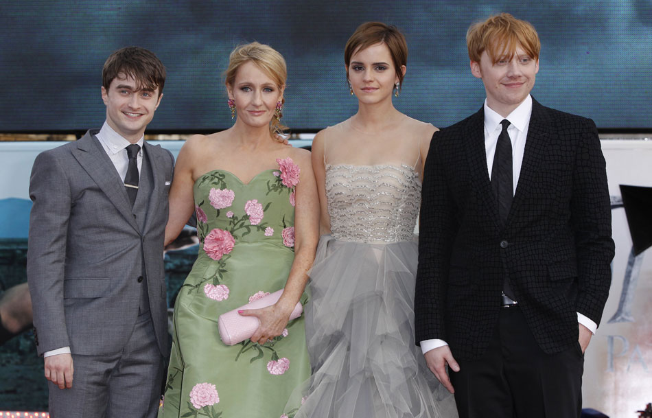cast Harry Potter London premiere