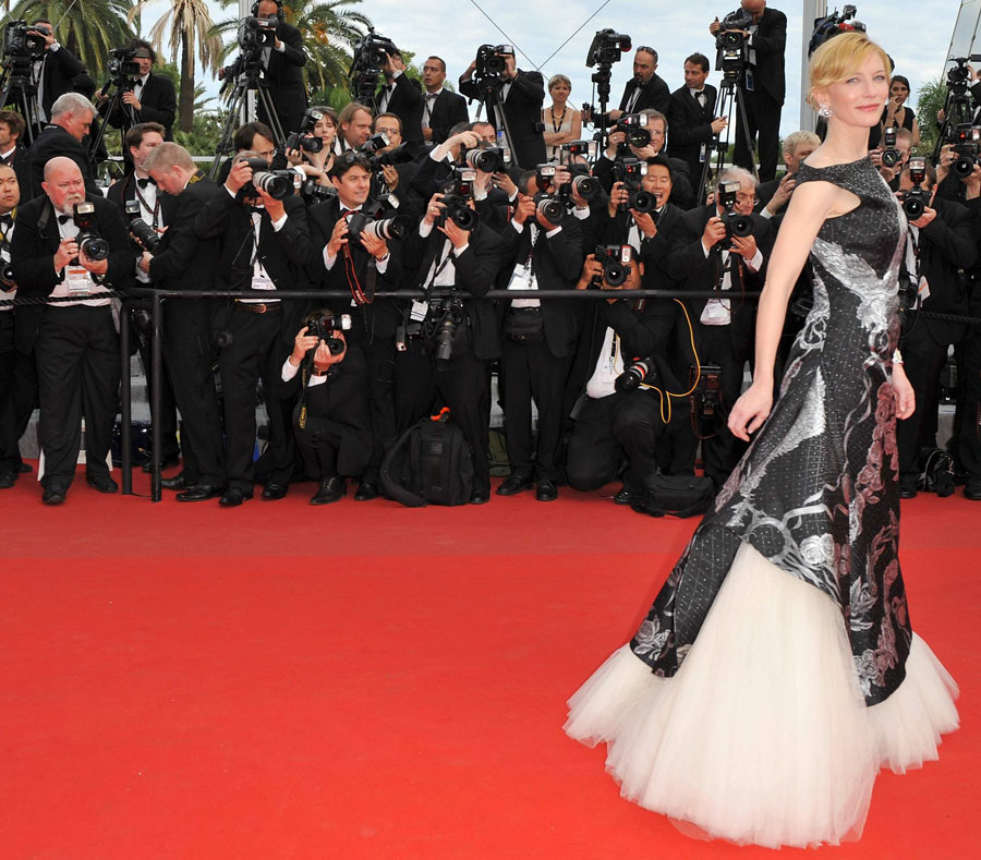 Cate Blanchett Alexander McQueen dress Cannes 2010 3