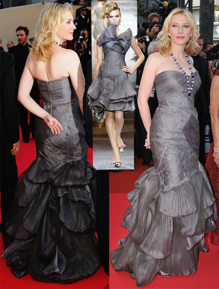 Cate Blanchett Armani Prive For Indiana Jones Premiere in Cannes