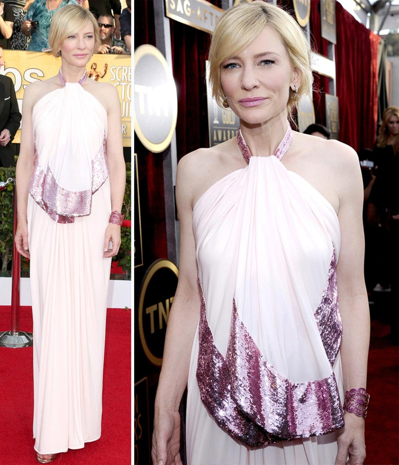 Cate Blanchett dress 2014 SAG Awards Red Carpet