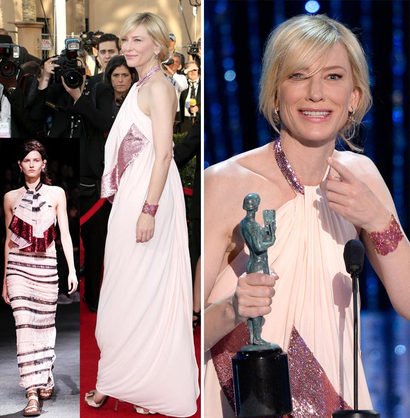 Cate Blanchett Givenchy dress 2014 SAG Awards