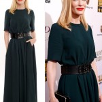 Cate Blanchett hair dress 2014 Critics Choice Awards