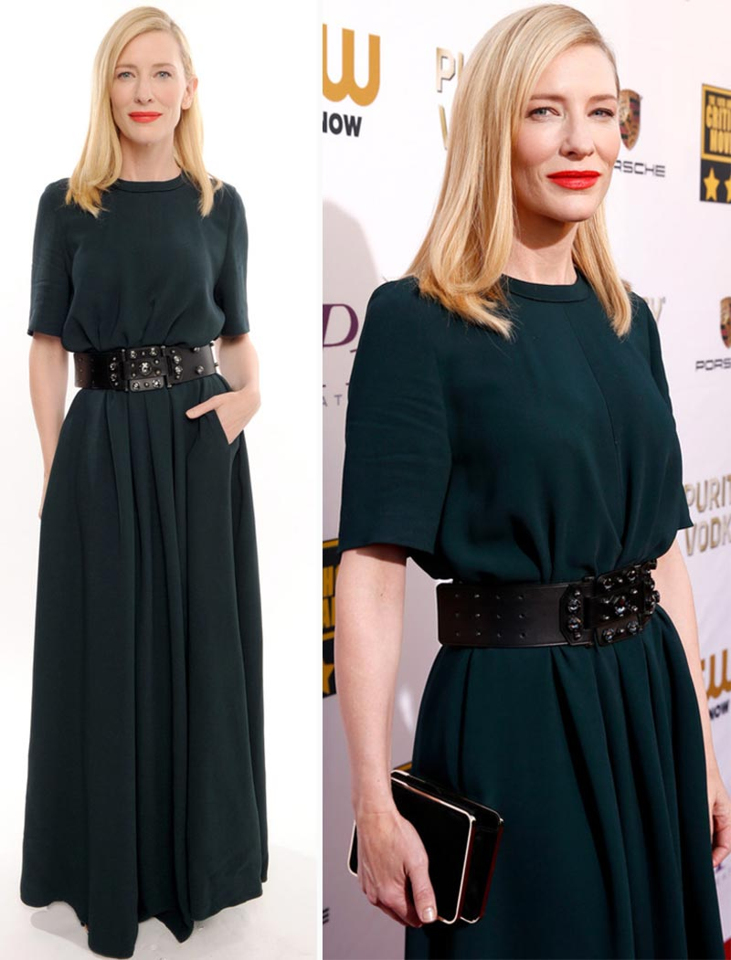 2014 Critics Choice Awards Red Carpet Dresses