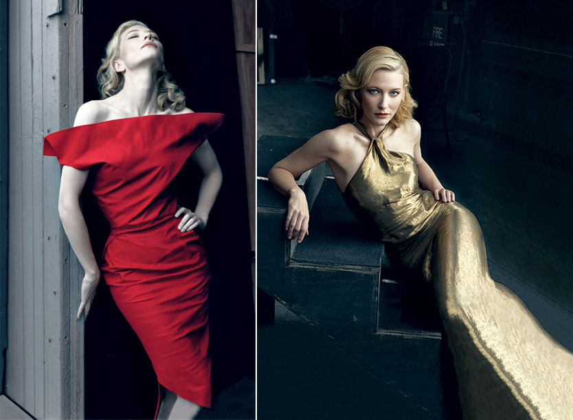 Cate Blanchett Vanity Fair February 2009
