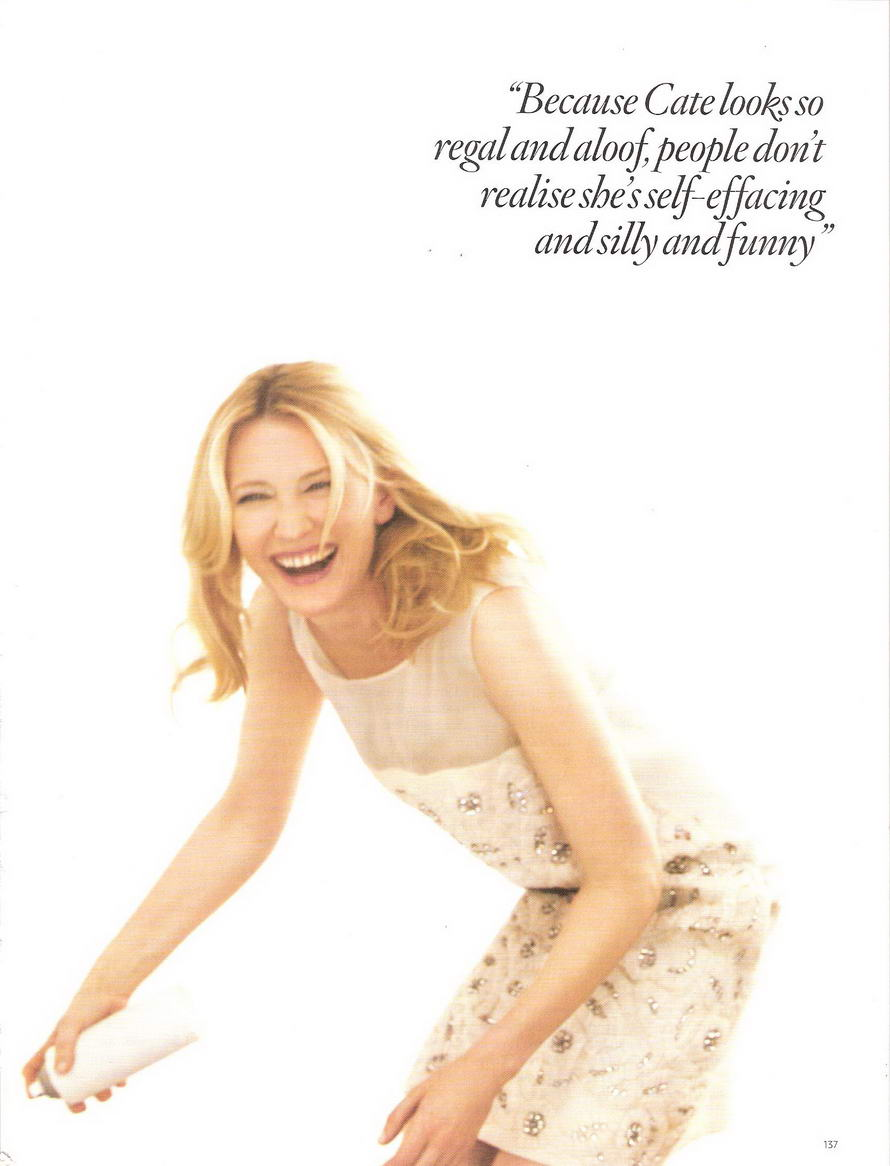 Cate Blanchett Vogue UK January 2009 4
