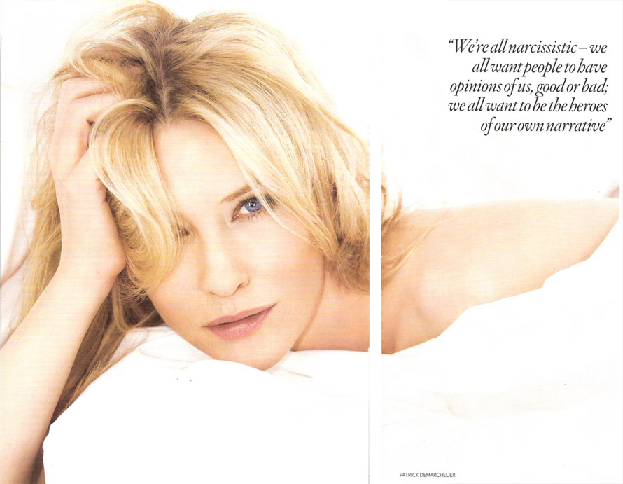 Cate Blanchett Does Vogue UK In January 2009
