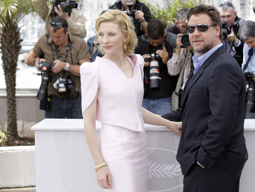 Cate Blanchett In White Armani Prive For Cannes 2010