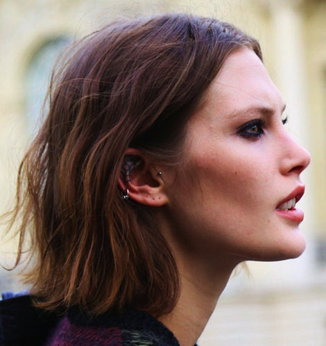 The Chopped Bob Is The New It Haircut: Catherine McNeil's Short Hair