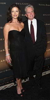 Catherine Zeta-Jones and Michael Douglas NBR