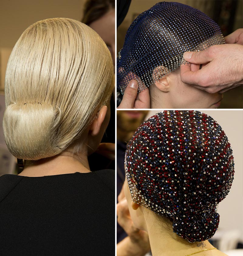 catwalk hair Armani Prive Spring 2014