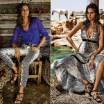Cavalli CandA collection lookbook Irina Shayk