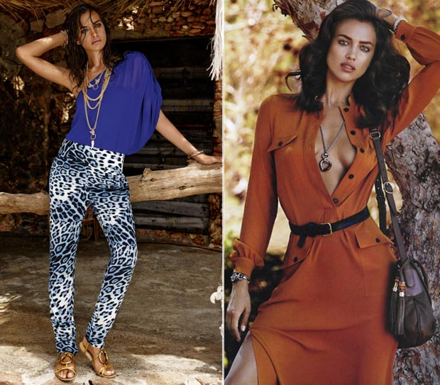 Cavalli CandA Irina Shayk Vogue Spain nov 2013