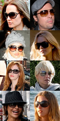 Celebrities Wearing Tom Ford Sunglasses
