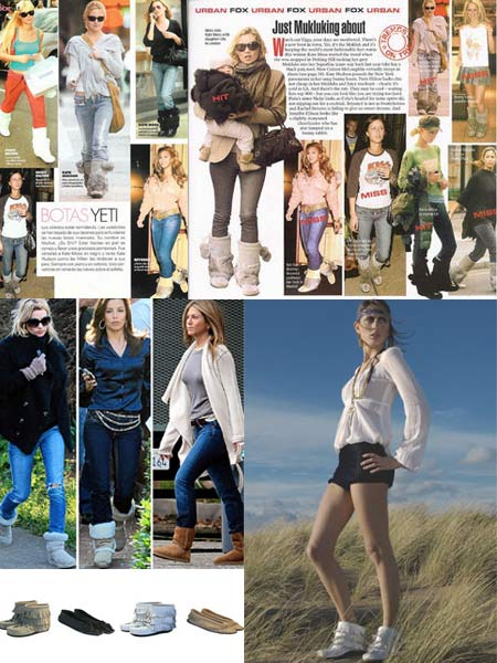 Celebrities Wearing Muks and Uggs Boots