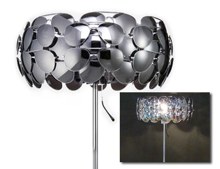 Celebrity lamp with aviator sunglasses
