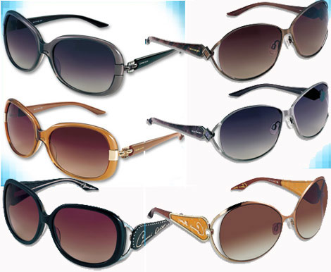 Celine Dion Signature Style Sunglasses