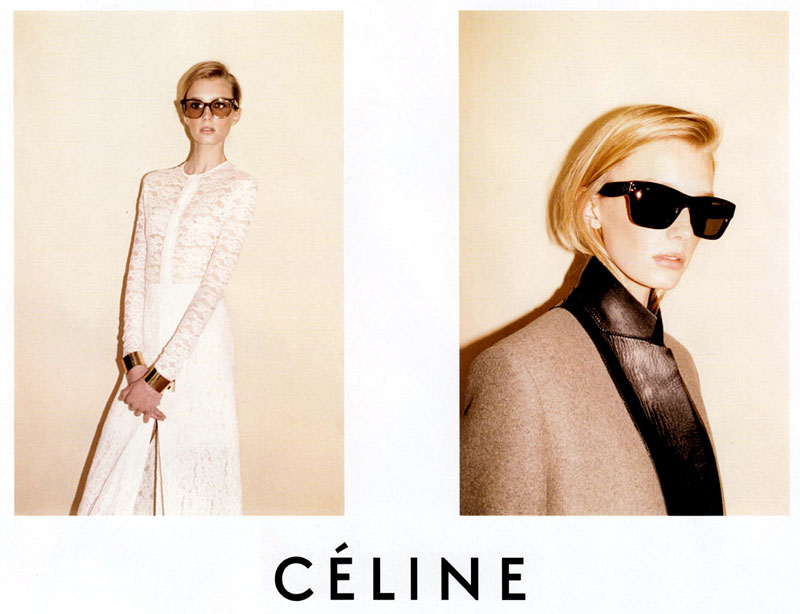 Celine fall 2010 ad campaign large