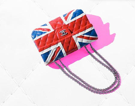 Chanel 2.55 Bag Special Edition Union Jack