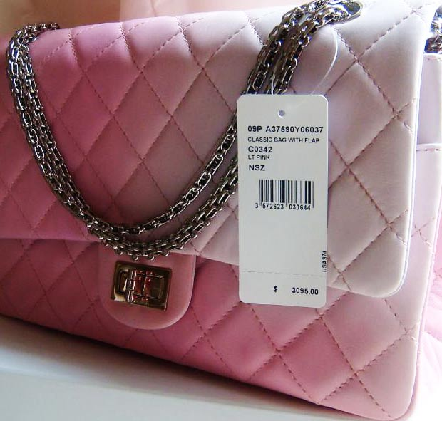 Chanel 2 55 bag label meaning