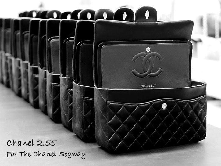 Chanel 2.55 bag Segway