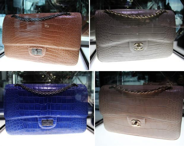 Chanel 2 55 bag vs other Chanel bags