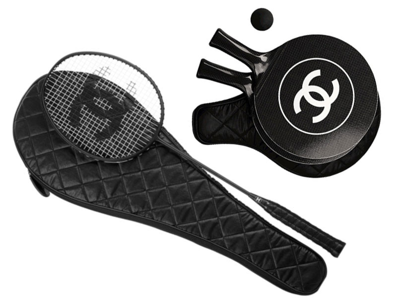 Chanel badminton ping pong sets