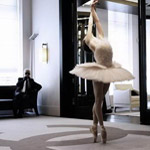 Lagerfeld's Dying Swan