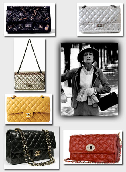 1955, Designer bags exploded, one of the most iconic being the original CHANEL 2.55 PURSE