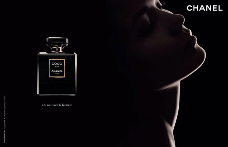 Chanel Coco Noir Karlie Kloss ad campaign