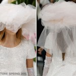 Chanel Couture bridal hat Spring 2015