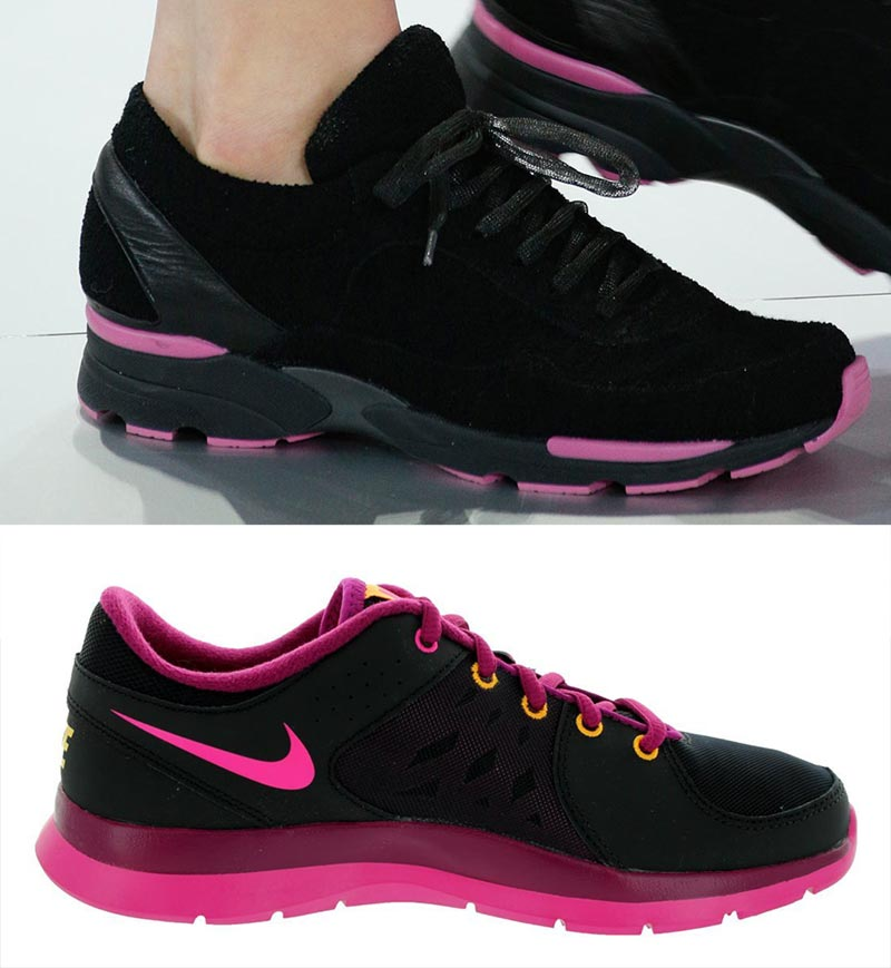 Chanel Couture sneakers vs affordable Nike sneakers