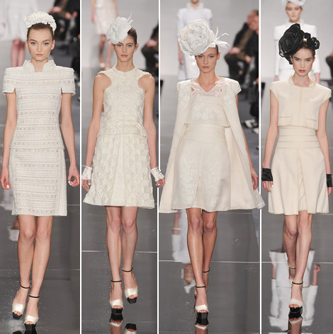 Chanel Couture Spring 09 butter